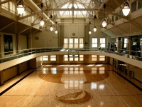John Wooden Basketball Court